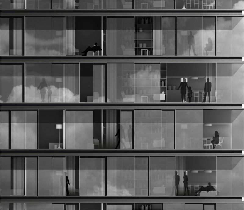 IMA_Porsche-Design-Tower_Fassadenschnitt-03